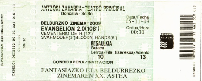 entrada_semanadeterrorsansebastian_proyeccionpresentacioncementeriodehistorias_05-11-2009